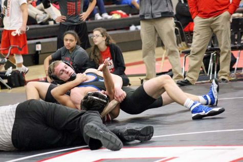 Wrestlers Take On State
