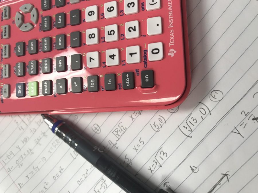 Students+particpated+in+the+American+Mathematics+Comeptition+on+Feb.+8.