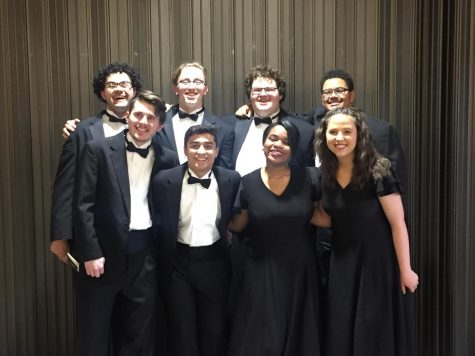 Nine Singers Attend KMEA State Choir