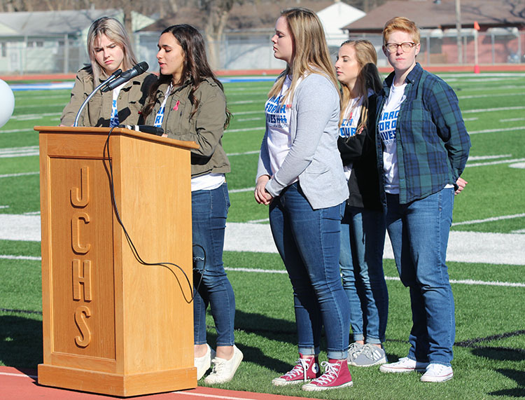 Students Walk Out To Address School Safety