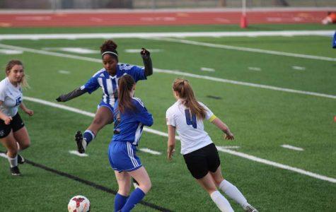 PHOTOS: Girls Varsity Soccer on April 4th