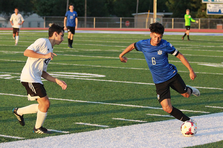 Varsity Soccer Captain Brings Intensity And Leadership To The Field