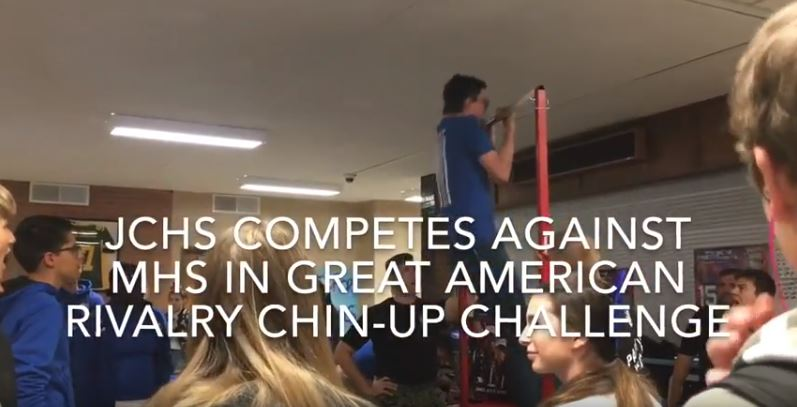 VIDEO: JCHS vs. MHS Chin-Up Challenge
